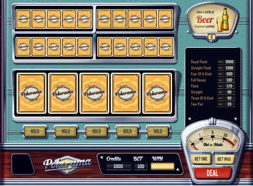 Ігровий онлайн апарат Pokerama