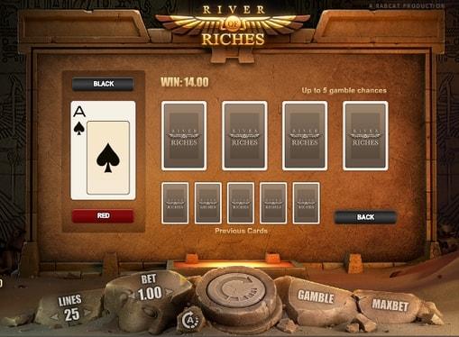 Ризик гра в автоматі River of Riches