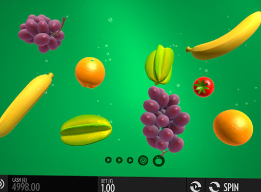 Символи ігрового онлайн автомата Fruit Warp