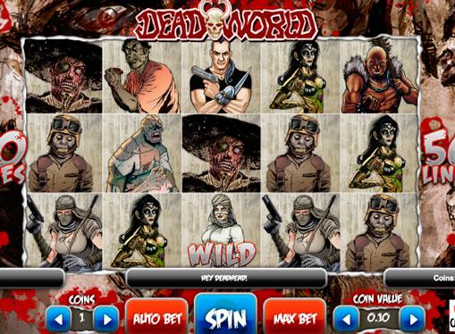 Дикий символ ігрового автомата Deadworld