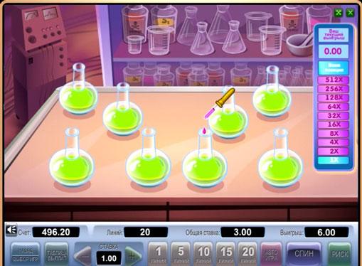 Бонусна гра в слоті Crazy Doctor