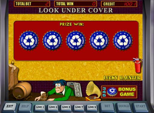 Бонусна гра в автоматі Lucky Haunter
