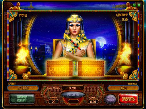 Ризик гра в ігровому автоматі Riches of Cleopatra