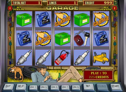 Ігрові автомати гаражі грати безкоштовно і без реєстрації