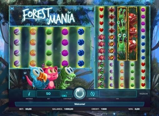 Бонусна гра в онлайн автоматі Forest Mania