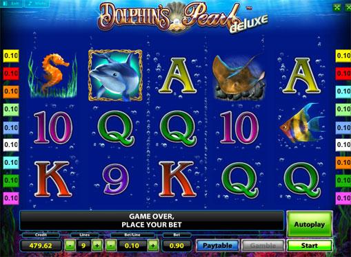 Символи ігрового онлайн автомата Dolphins Pearl Deluxe