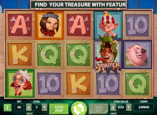 Скаттер в ігровому автоматі Hooks Heroes
