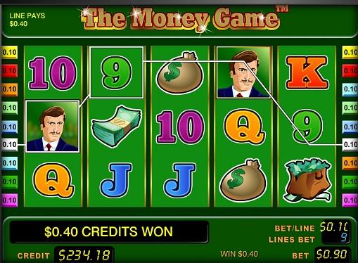 Виграшна комбінація в слоті The Money Game