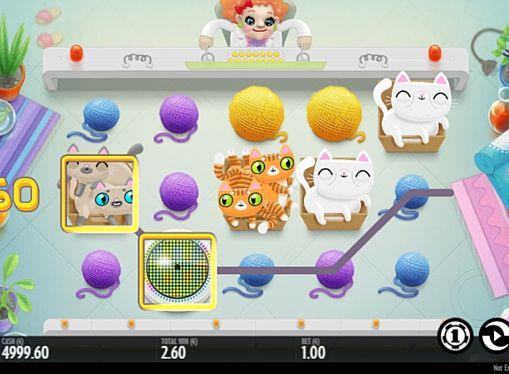 Призова комбінація символів в ігровому автоматі Not Enough Kittens