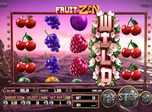 Wild символ в ігровому онлайн автоматі Fruit Zen