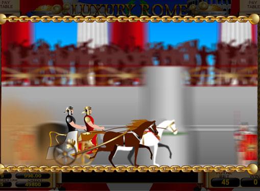 Бонусна гра слота Luxury Rome