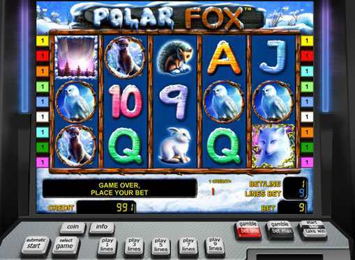 Символи Polar Fox