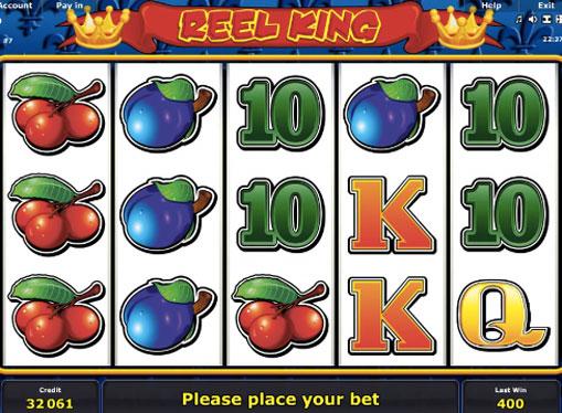 Символи онлайн слота Reel King