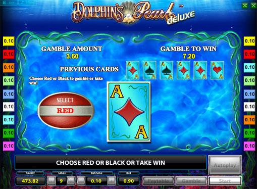 Ризик гра на Dolphins Pearl Deluxe
