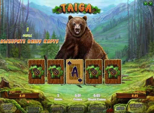 Ризик гра на апараті Taiga