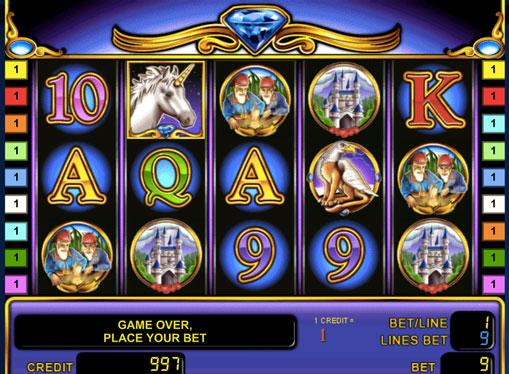 Символи ігрового автомата Unicorn Magic